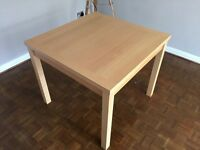 Solid Maple Extending Dining Table