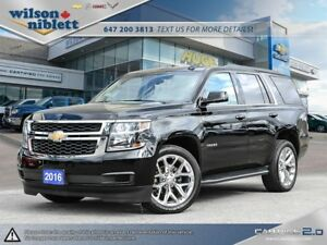2016 Chevrolet Tahoe LT LEASE RETURN, ACCIDENT FREE