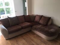 DFS 5 seater corner sofa, good condition with a few marks over the years. Collection only