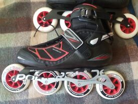 Rollerblade Tempest 100 2017 carbon brand new