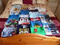 large bundle of boys clothing 42 items