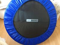 Opti Trampoline - hardly used for indoor fitness