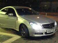 Mercedes E220d coupe, blueefficiency ,2012 year