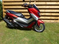 Yamaha NMAX 125 Scooter ABS Low miles 1 owner - immaculate