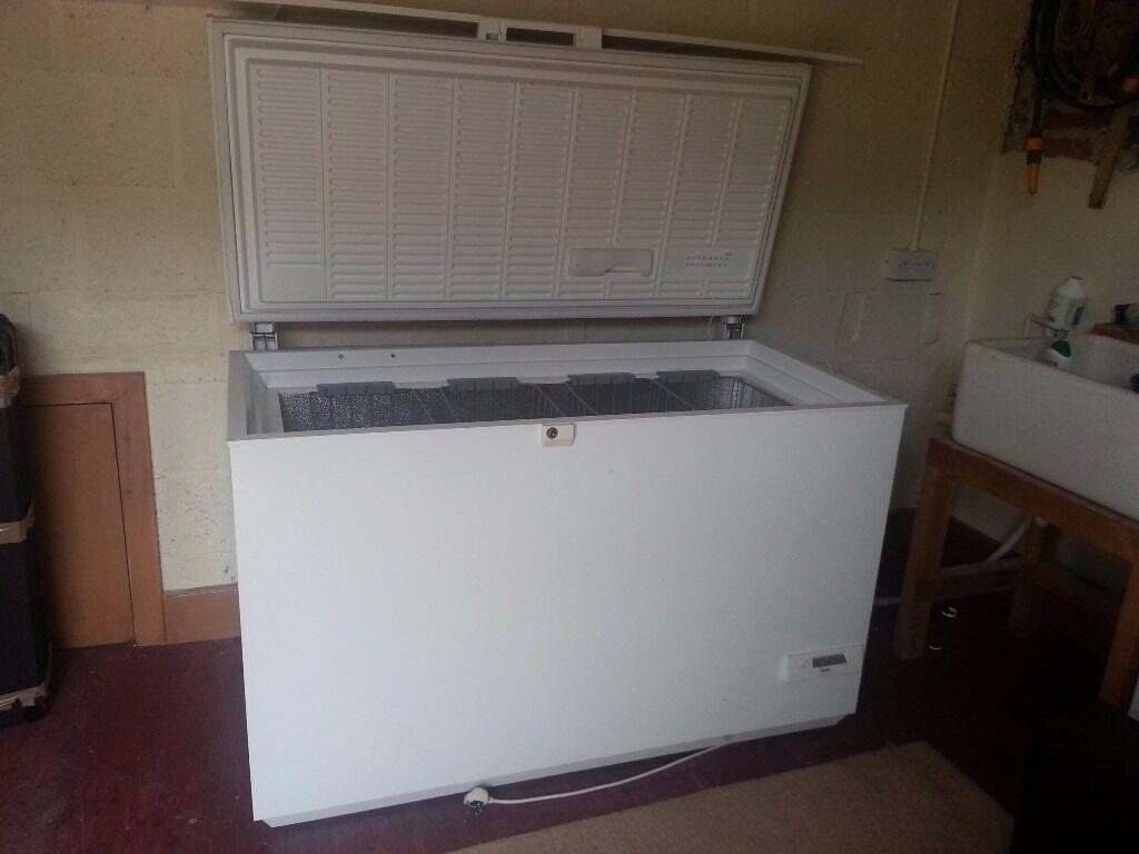 Chest Freezer Large Capacity Zanussi Electrolux Good