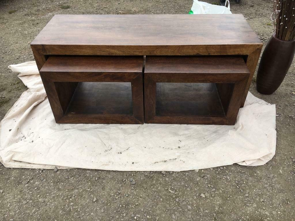 Solid Oak Furniture Land Coffee Table In Purton Wiltshire Gumtree