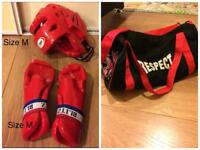 Boxing sets with bag