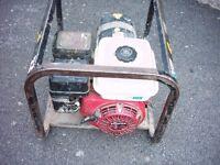 honda petrol generator look