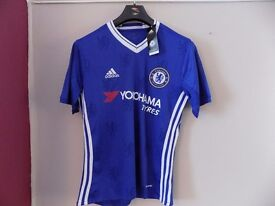 New 2016-17 Chelsea Home Football Shirt Size M or L SEALED WITH ALL TAGS