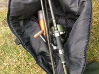 Matt Hayes Marker Rod + Wychwood Big Pit reel + Bag + Floats