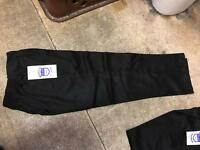Job lot school trousers Teflon