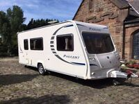 Bailey Pageant Champagne 4 berth caravan Series 7 2008 in superb condition with loads of extras