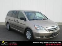 Honda Odyssey LX 2007 ONE OWNER NO ACCIDENTS 4 SNOW TIRES