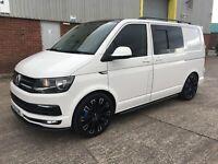 Volkswagen Transporter conversion 2016 R Line kit, FULLY LOADED 2016 66 Plate 6 seater