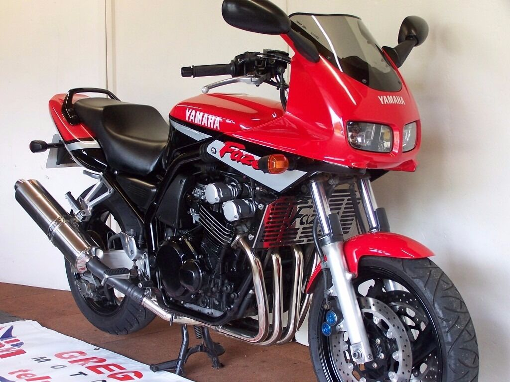 2000 YAMAHA FAZER FZS600 RED LOW MILES   in Horncastle ... Yamaha Fazer 150cc Red