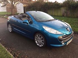 Peugeot 207 CC 1.6 THP GT 2dr , NEW CLUTCH , 6 MONTHS FREE WARRANTY