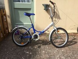 Folding Bike. Sunlova. Used but in good good condition 20inch wheels.