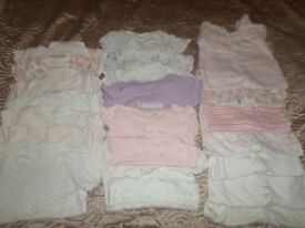 GIRLS BABY CLOTHING AGE 6-9 MONTHS