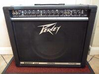 Peavey Bandit guitar amp. 100 watt combo amplifier.