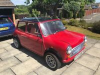 Classic Mini 12 months MoT, 1380cc High performance engine