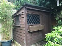 Solid wooden shed 7' x 5'