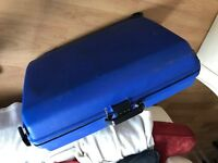Hardshell large suitcase with locking code