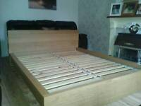 Ikea King Size Bed frame (delivery available)