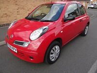 Nissan Micra 1.2 16v Visia 3dr 1 OWNER IMMACULATE CONDITION