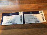 2X TAKE THAT TICKETS at O2 £65 each