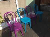 Dining Chairs mixed colours