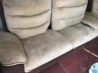 2 sofa set recliner