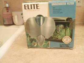 Internal fish tank filter