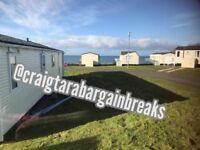 Craig tara caravan for hire NOT sandylands or haggerston castle.