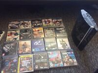 Ps3 80gb 20 games
