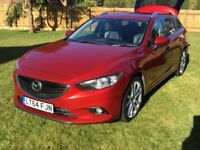 ONE OWNER MAZDA 6 2.2 SPORT NAV D TOP OF THE RANGE, HIGH SPEC, FSH, DIESEL £30 for one year road tax