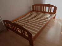 BRAND NEW pine double bed frame - delivery possible
