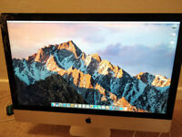 iMac 27in Slimline Late 2013 3.5ghz i7 1TB FUSION DRIVE 20GB RAM Spares Repair