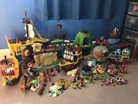 Job lot/bundle Disney Jake and the never land pirates toys