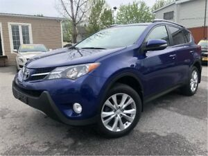 2014 Toyota RAV4 Limited AWD LEATHER NAVIGATION MOON ROOF
