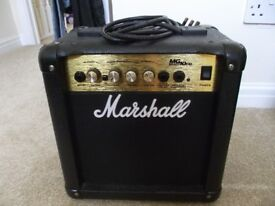 MARSHALL MG10CD GUITAR AMP 40WATT