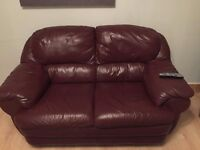 Leather Sofa in Great Condition, two seater