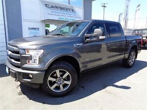 2015 Ford F-150 Lariat Sport FX4, Eco-Boost, Max Tow, Tech, Roof