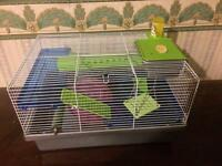 Rosewood pico hamster cage with extras