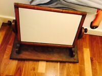 Victorian tilt and turn dressing table mirror