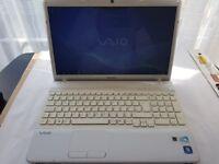 Sony Vaio PCG-71311M Laptop Win 7 500GB HDD 4GB RAM INTEL PENTIUM P6100 @ 2GHZ
