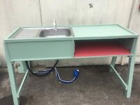 Bespoke Camping Sink with 12volt Pump