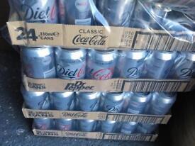 Diet Coke packs