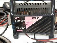 PRO USER 12 VOLT BATTERY CHARGER MODEL CBC6