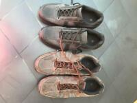 2 x men's size 8 shoes new