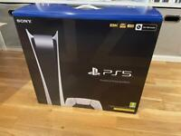 PS5 Digital Edition SEALED BOX with RECEIPT